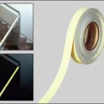 Esempio applicazione rotolo fotoluminescente