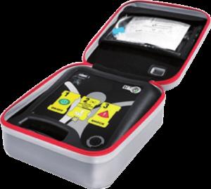 defibrillatore aperto