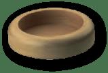 base rotonda legno
